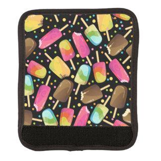 Mehrfarbige Eiscreme Popsicles besprüht Muster Gepäck Markierung