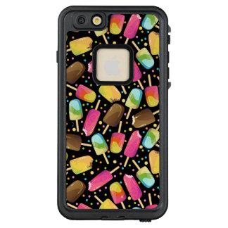 Mehrfarbige Eiscreme Popsicles besprüht Muster LifeProof FRÄ' iPhone 6/6s Plus Hülle