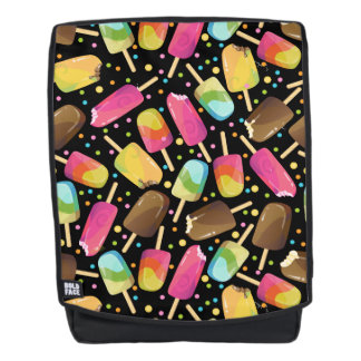 Mehrfarbige Eiscreme Popsicles besprüht Muster Rucksack