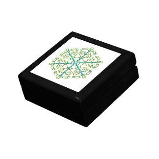 Mehrfarbige Schneeflocke 1 Geschenkbox
