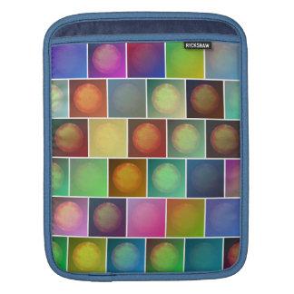 Mehrfarbige Sonnen Sleeve Für iPads