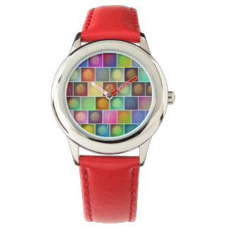Mehrfarbige Sonnen Uhr