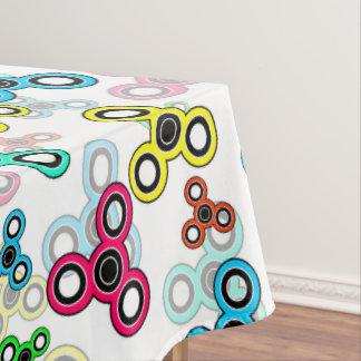 Mehrfarbige Spinner Tischdecke