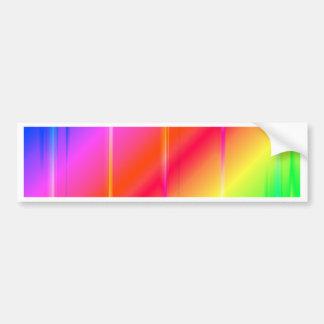 mehrfarbige Streifen-Nr. 2 geschaffen durch Tutti Autoaufkleber