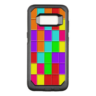 Mehrfarbige Taquin Fliesen nach dem Zufall OtterBox Commuter Samsung Galaxy S8 Hülle