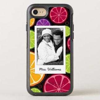 Mehrfarbige Zitrusfrucht | addieren Ihr Foto OtterBox Symmetry iPhone 8/7 Hülle