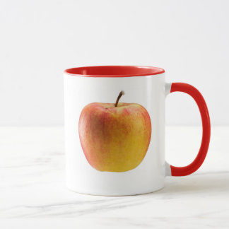 Mehrfarbiger Apfel Tasse