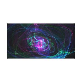 mehrfarbiger mystischer Hintergrund Leinwanddruck