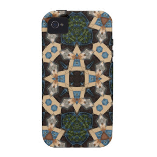 Mehrfarbiges abstraktes Muster Vibe iPhone 4 Case