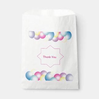 Mehrfarbiges Ballon Geburtstags-Party themed Geschenktütchen