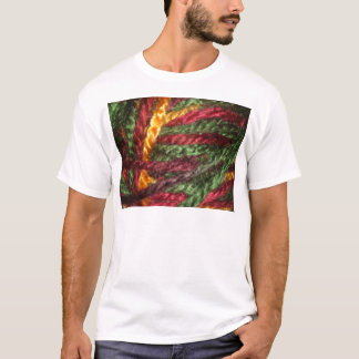 Mehrfarbiges Garn T-Shirt