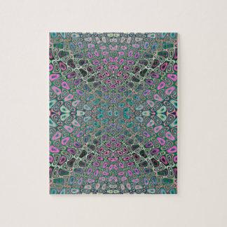 Mehrfarbiges Hologramm-Schmetterlings-Fraktal Puzzle