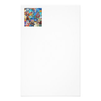 Mehrfarbiges Kunst-Muster Individuelle Büropapiere