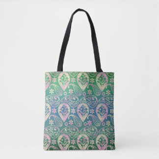 Mehrfarbiges Paisley Tasche