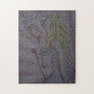 mehrfarbiges Rosa der abstrakten Kunst, das Puzzle