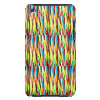 Mehrfarbiges Streifen-Muster iPod Case-Mate Hülle