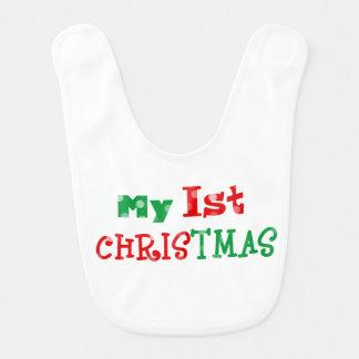 mein 1. Weihnachten Babylätzchen