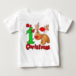 Mein 1. Weihnachtsren Baby T-shirt