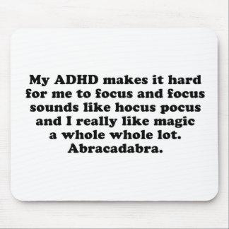 Mein ADHD Fokus-Hokuspokus Mousepad