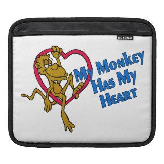Mein Affe hat mein Herz Sleeve Für iPads