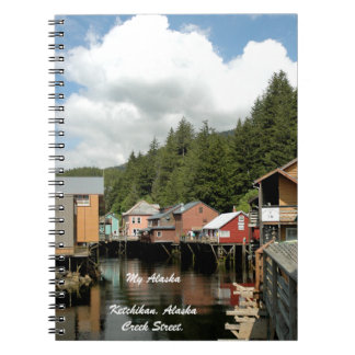 Mein Alaska, Ketchikan, Alaska - Anmerkungs-Buch Notizblock