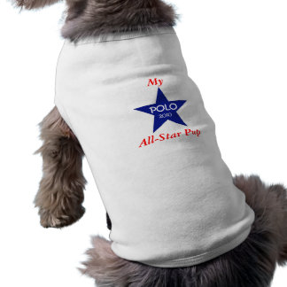 Mein All-Star- Welpe-POLO 2010 - blauer Stern Top