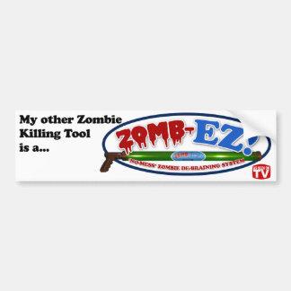 Mein anderer Zombie-Tötungs-Werkzeug-… Autoaufkleber