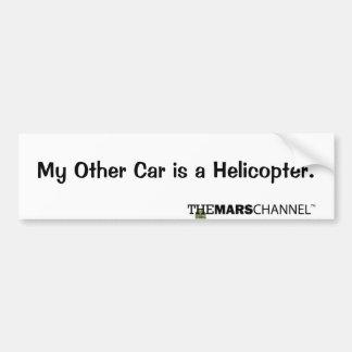 Mein anderes Auto ist ein Autoaufkleber