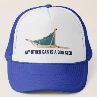 Mein anderes Auto ist ein Hundeschlitten Truckerkappe