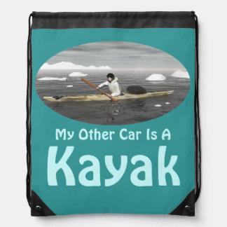 Mein anderes Auto ist ein Kajak Turnbeutel