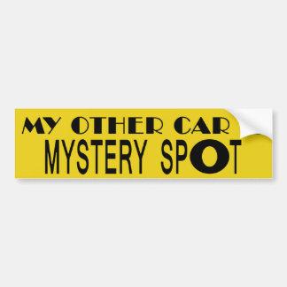 Mein anderes Auto ist Geheimnis-Stelle Autoaufkleber
