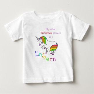 Mein anderes Weihnachtsgeschenk ist ein Einhorn Baby T-shirt