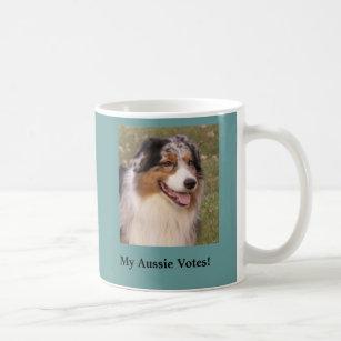 Mein Australier wählt Tasse