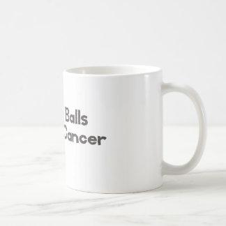 Mein Ball-Schlag-Krebs-Hodenkrebsüberlebender Kaffeetasse