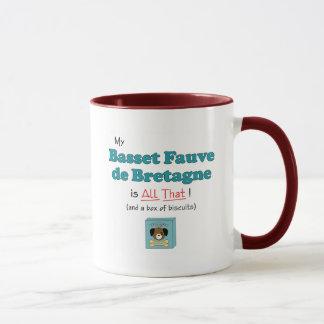 Mein Basset Fauve de Bretagne ist aller das! Tasse