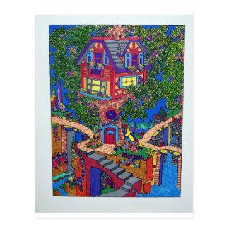 Mein Baumhaus 132 durch Piliero Postkarte