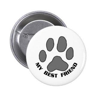 Mein bester Freund Runder Button 5,7 Cm