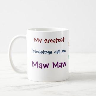 Mein bestster Segen ruft mich Kaffeetasse