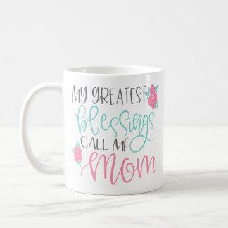 Mein bestster Segen ruft mich Mamma-Kaffee-Tasse Kaffeetasse