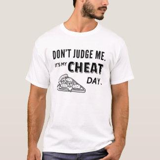 Mein Betrüger-Tagespizza-Tagesdiät-Spaß T-Shirt
