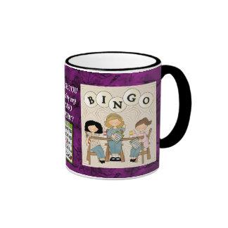 Mein Bingo-Freund 2 Ringer Tasse