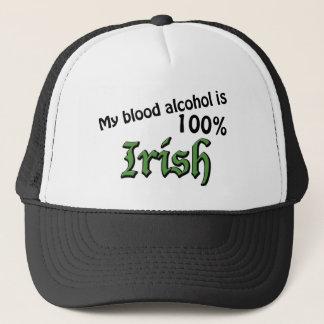 Mein Blutalkohol ist 100% Iren Truckerkappe