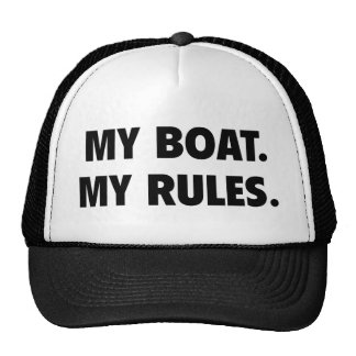 Mein Boot. Meine Regeln Retrocap
