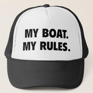 Mein Boot. Meine Regeln Truckerkappe