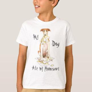 Mein Borzoi aß meine Hausaufgaben T-Shirt