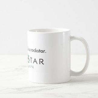 Mein Buchhalter ist eine Rockstar Tasse