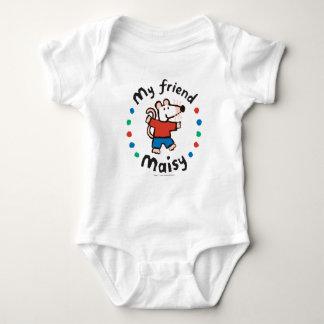 Mein bunter Kreis-Entwurf Freund-Maisy Baby Strampler