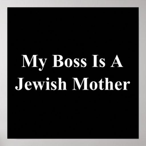 Mein Chef ist eine jüdische Mutter Poster