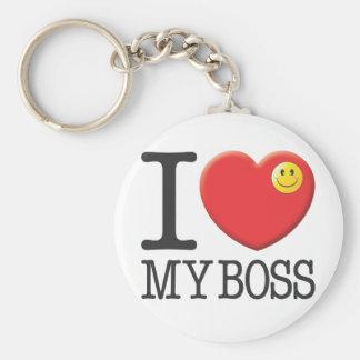 Mein Chef Schlüsselanhänger