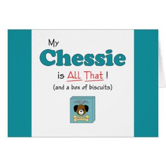 Mein Chessie ist alles das! Karte